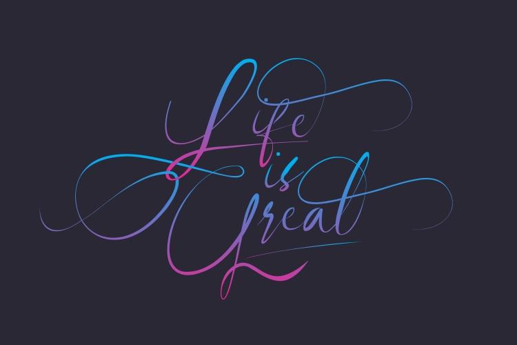 Revalinda Stylist Scripts font example image 7