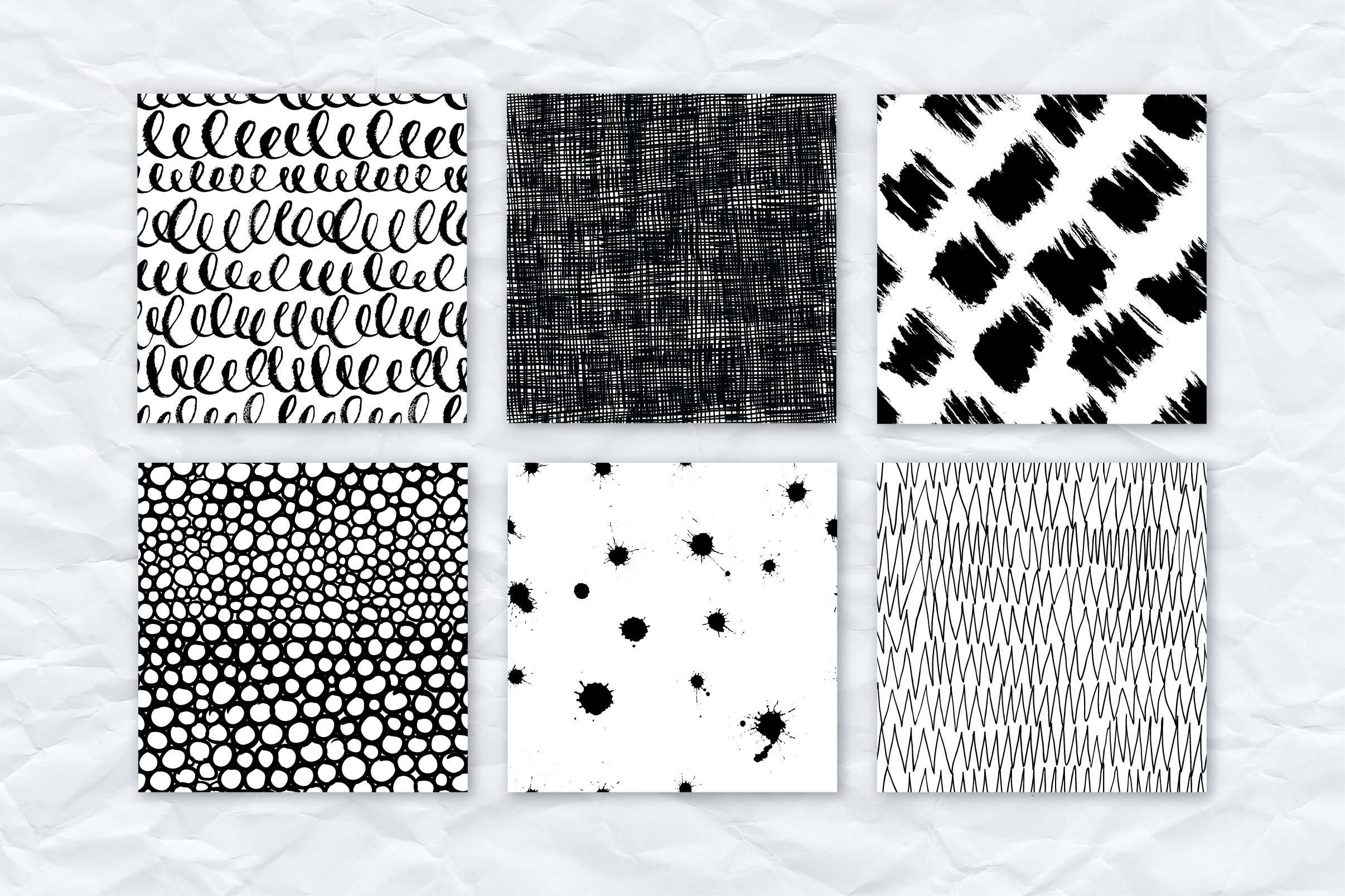 26 ink effect seamless patterns example image 3
