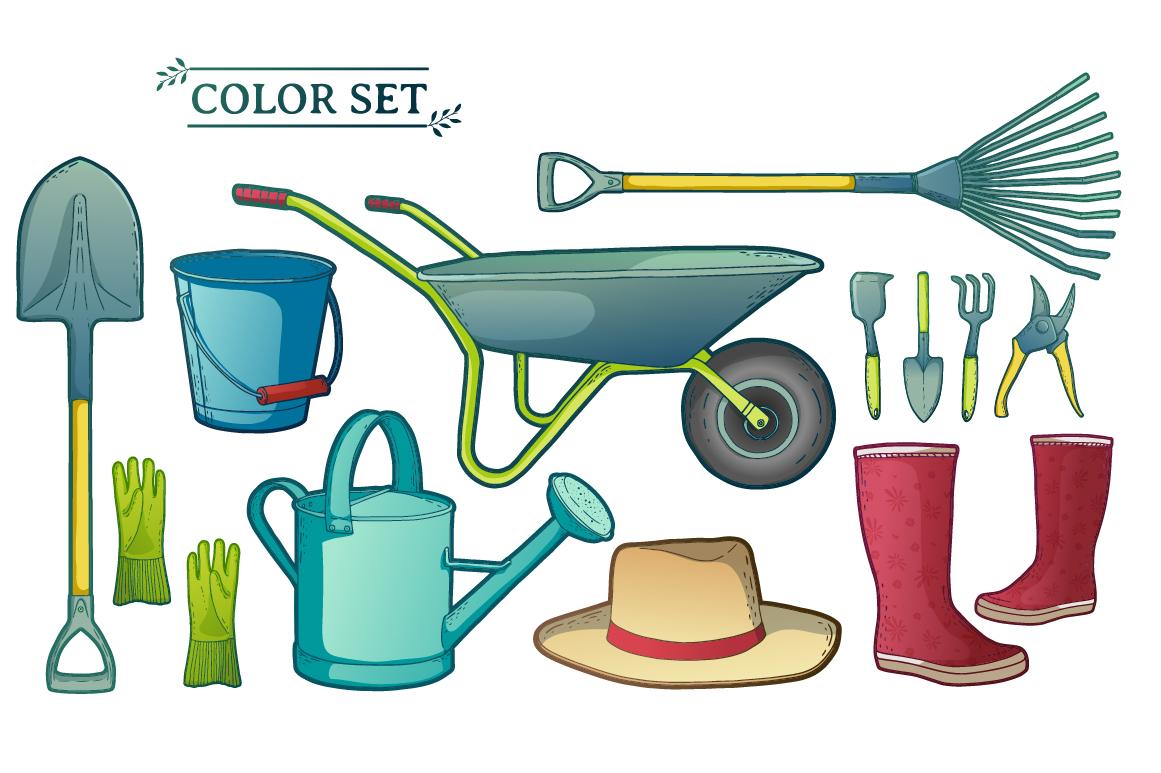 Garden/Farm icon and logo set example image 4