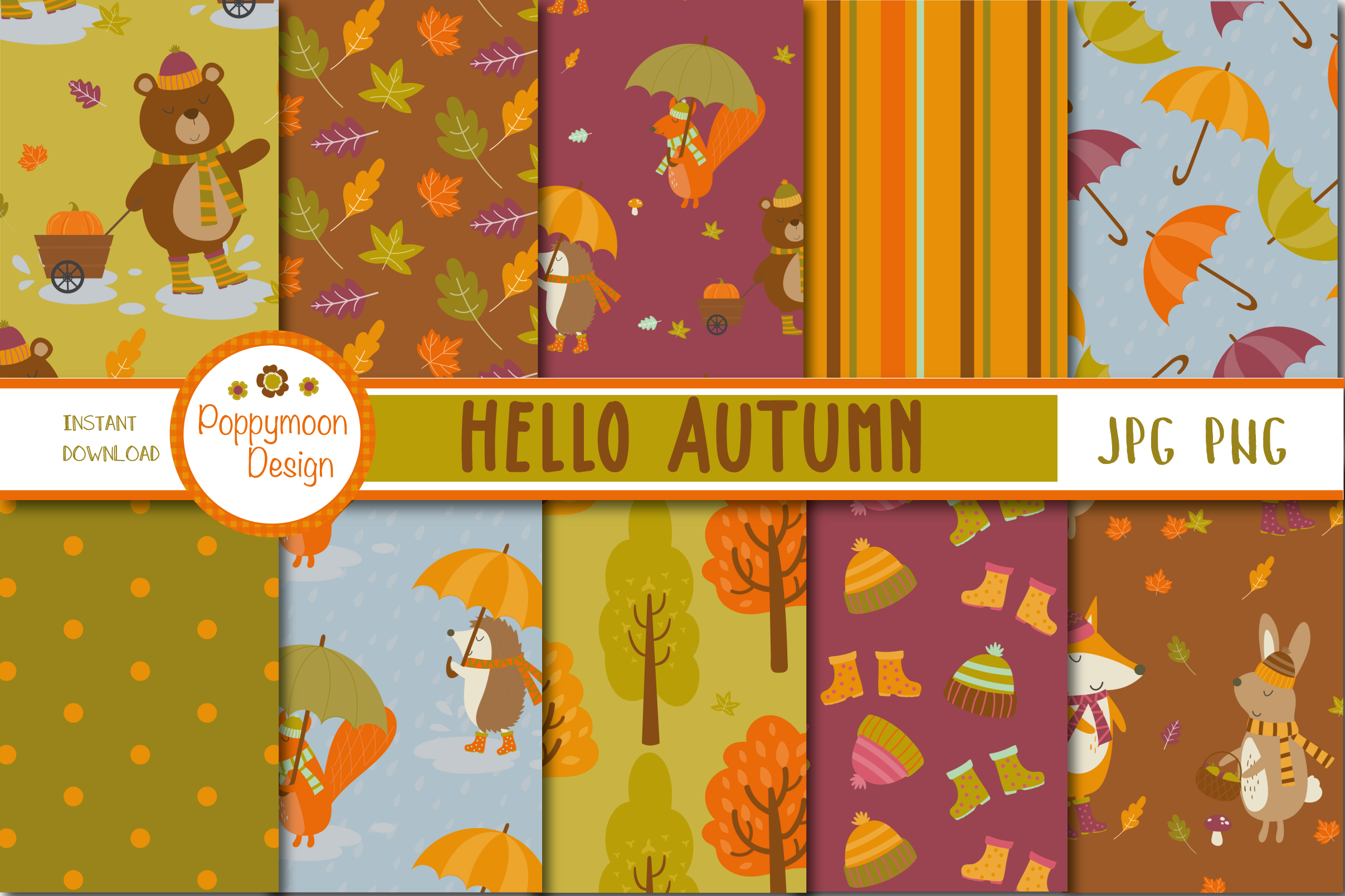 Hello Autumn pack example image 3