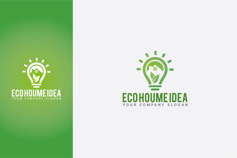 Eco Home Idea Logo