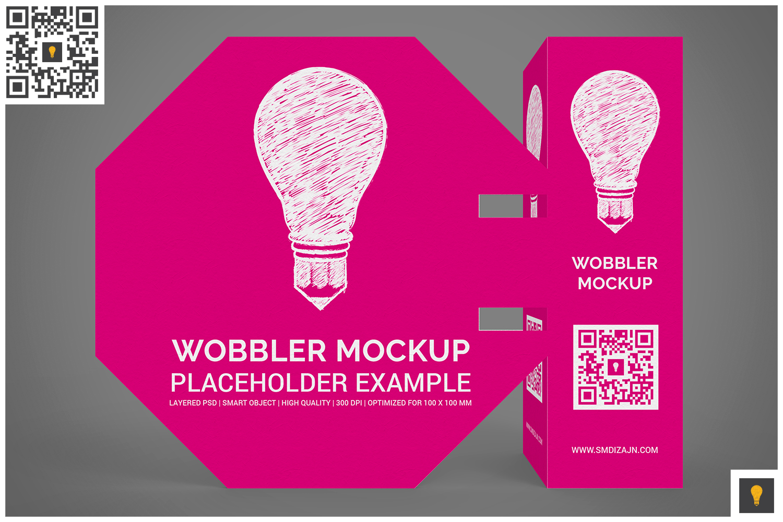 3D Wobbler Mockup example image 10
