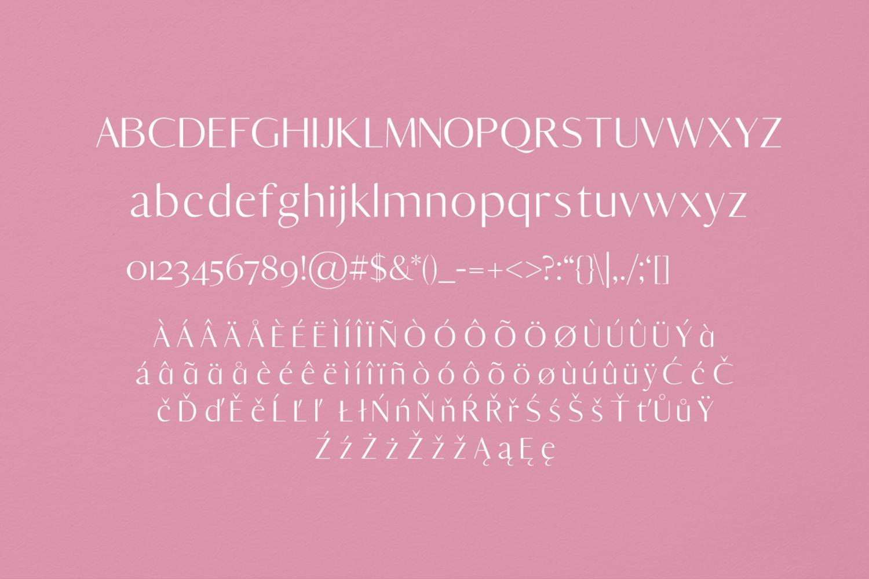 Yadon Sans Serif Typeface example image 2