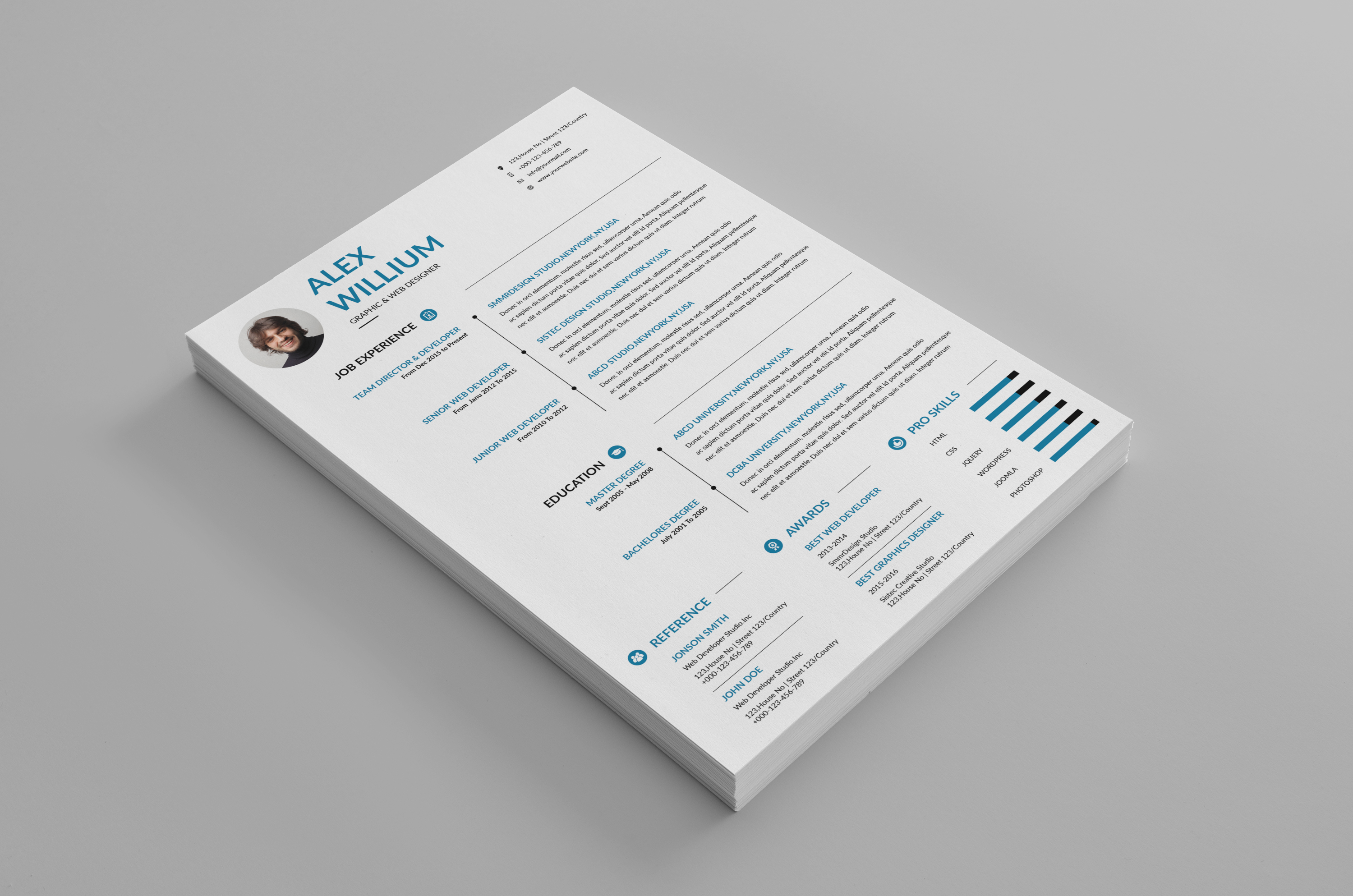 3 Resume 2 Cover-Letter example image 3