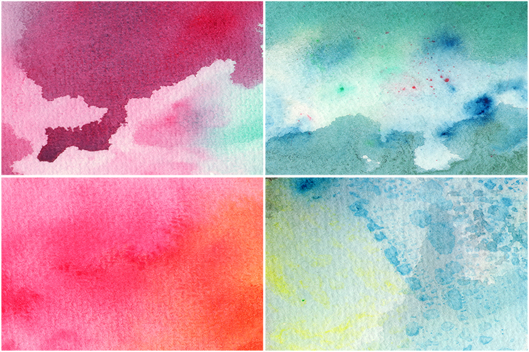 50 Watercolor Backgrounds 05 example image 8