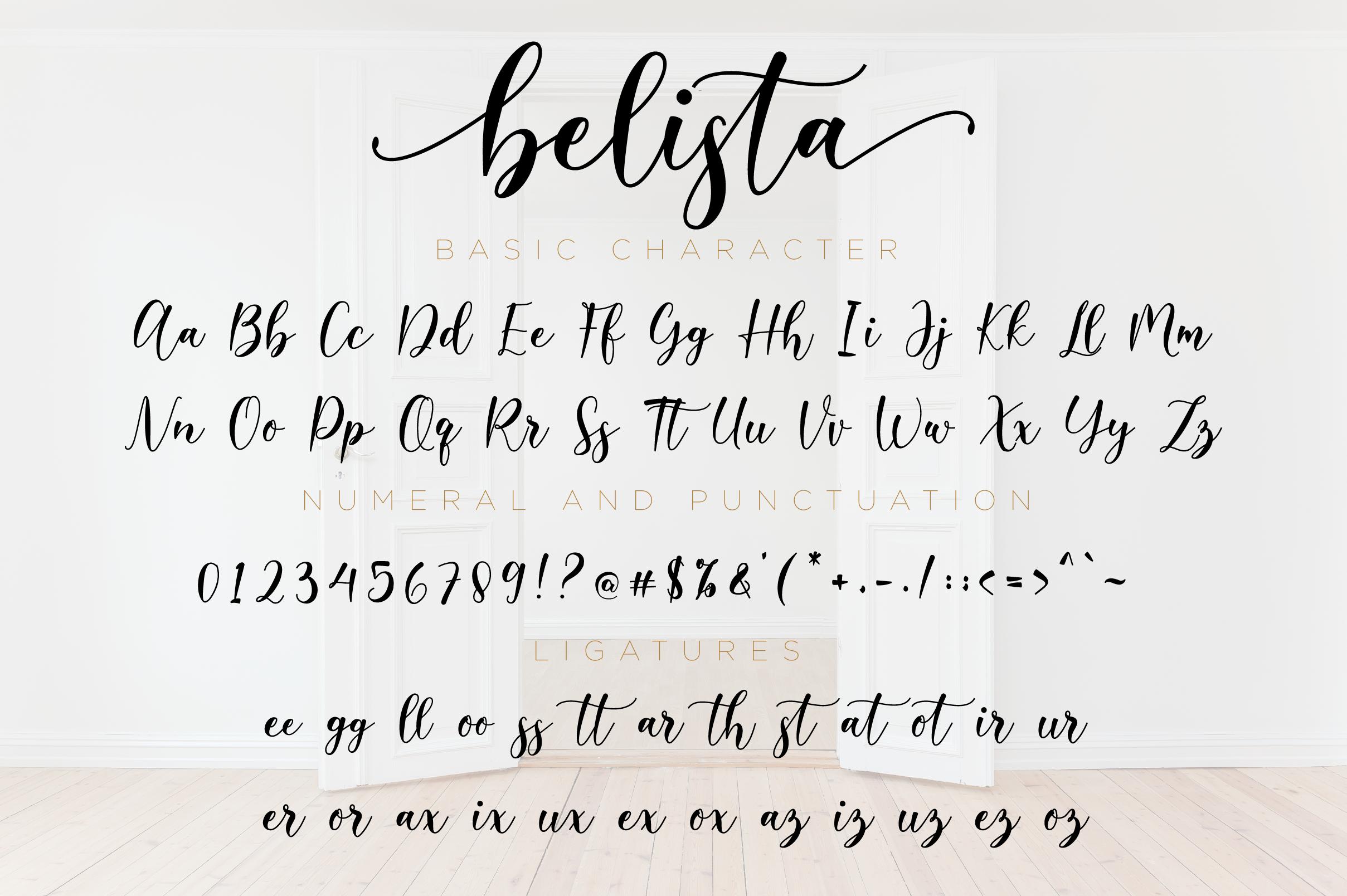 Belista Script example image 11
