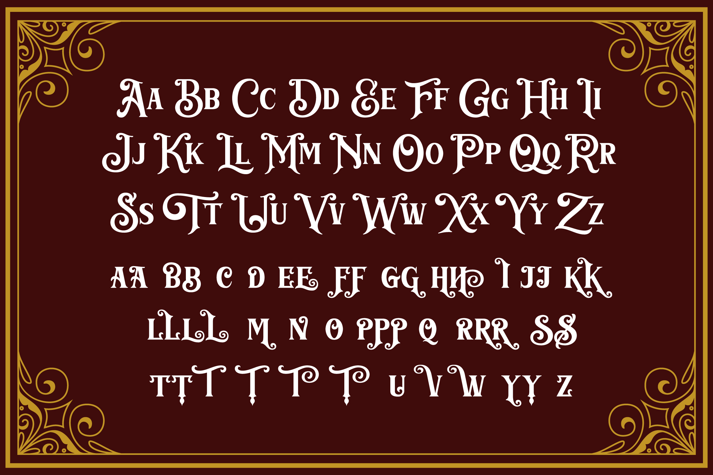 Barthez - Victorian Serif Font example image 10