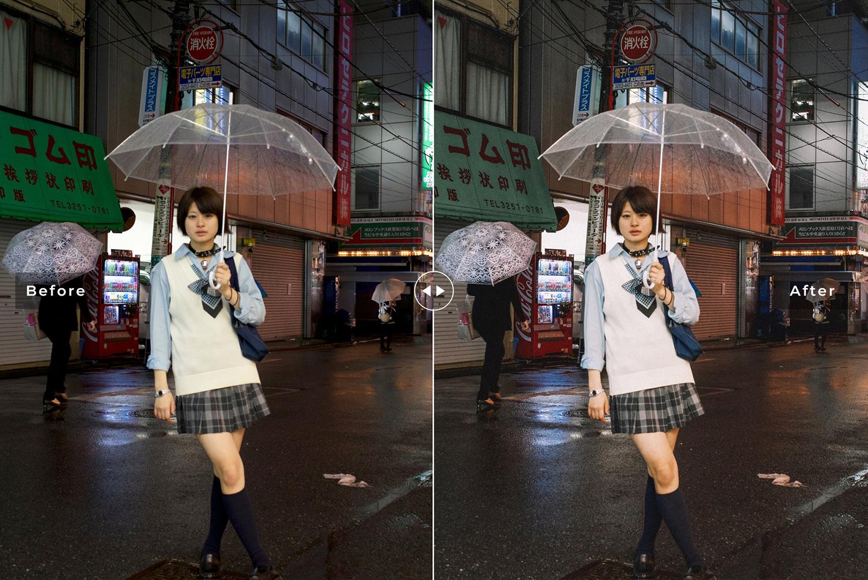 Tokyo Mobile & Desktop Lightroom Presets example image 6