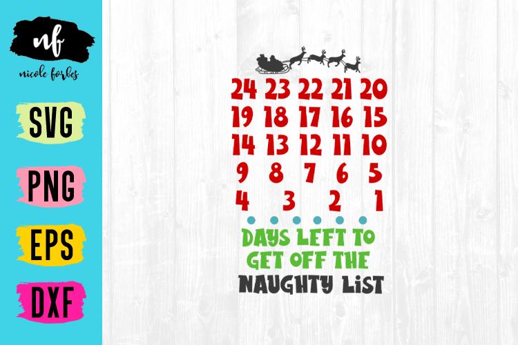 Christmas Countdown SVG Bundle example image 5