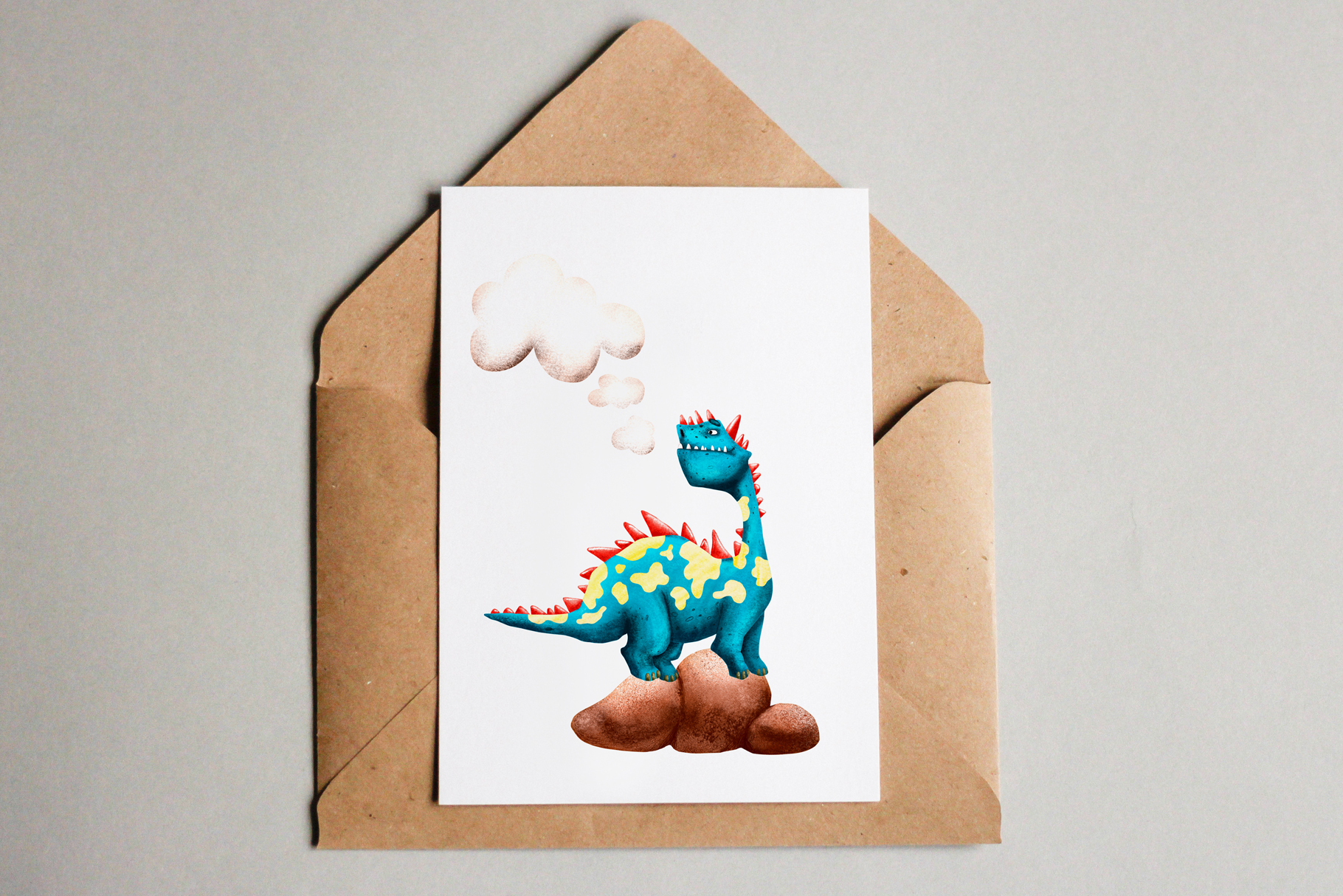 Cute Dragons - Clip Art Set example image 8
