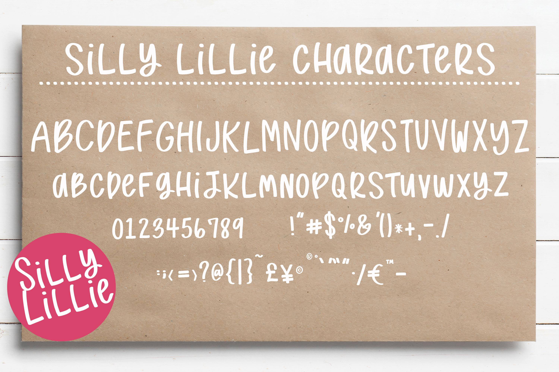 Handwritten Print Fonts bundle example image 2