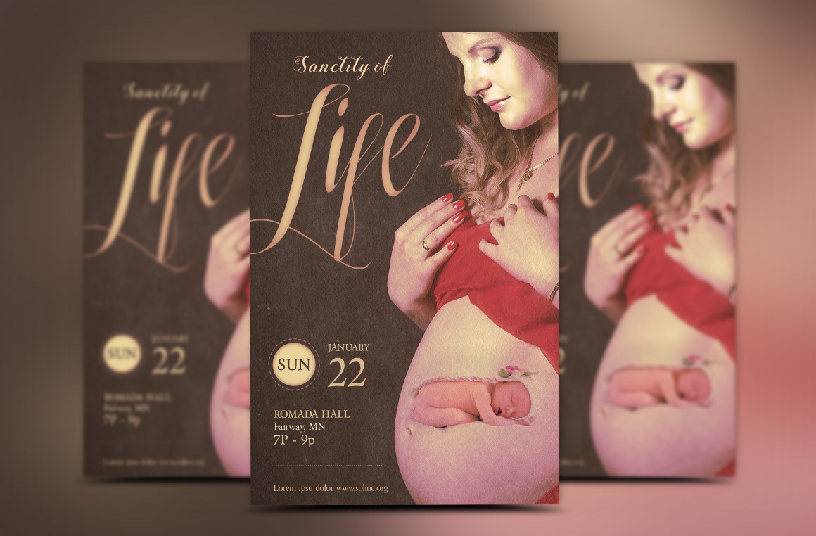 Sanctity Flyer Template example image 2