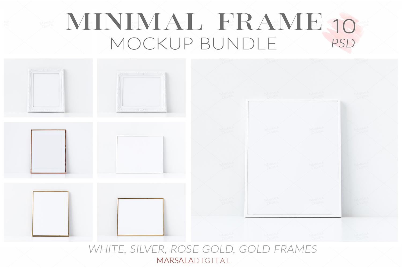 Massive Interior Wall Mockup, Frame Mockup Bundle FREE sampl example image 20