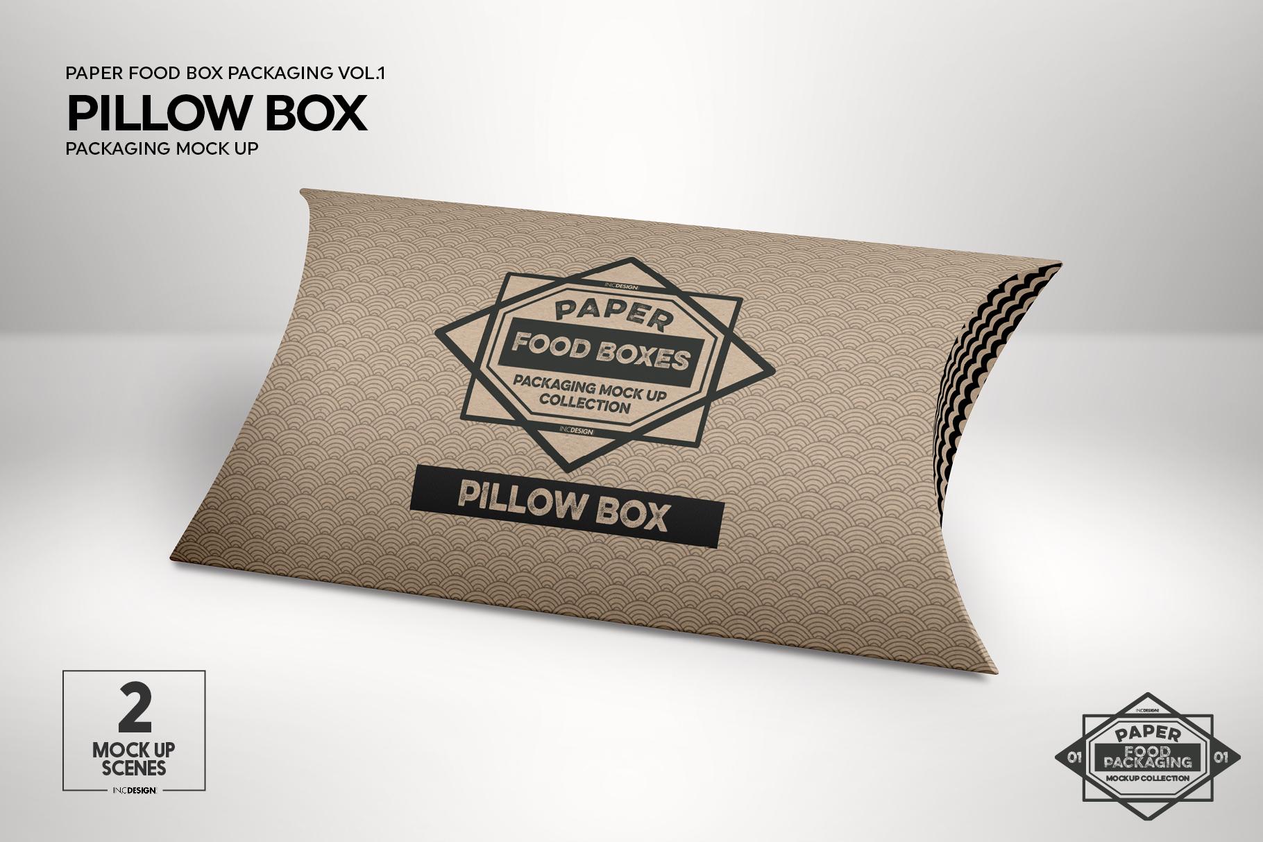 VOL.1 Food Box Packaging MockUps example image 16