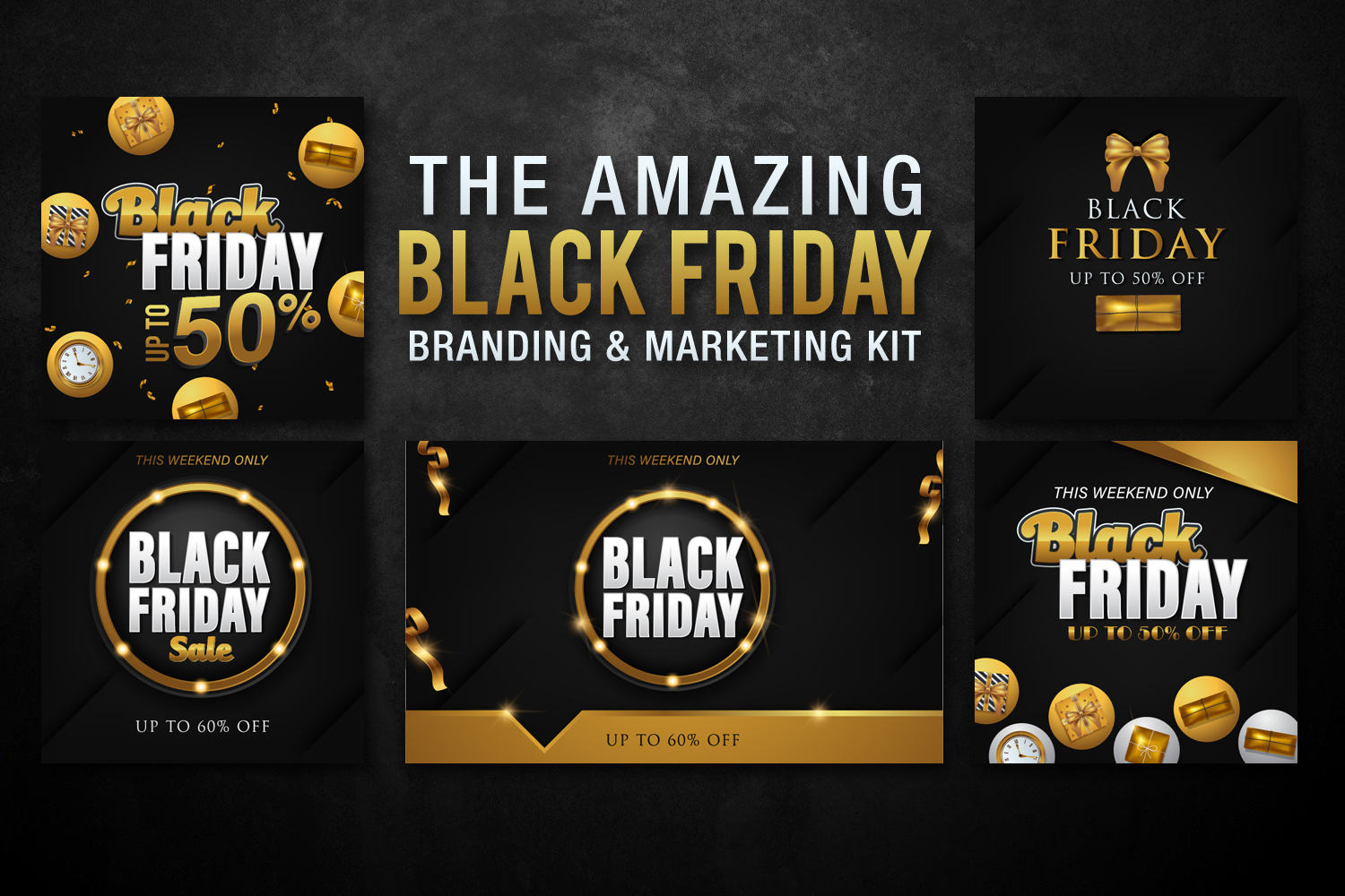 Black Friday Templates Vol 1 example image 3