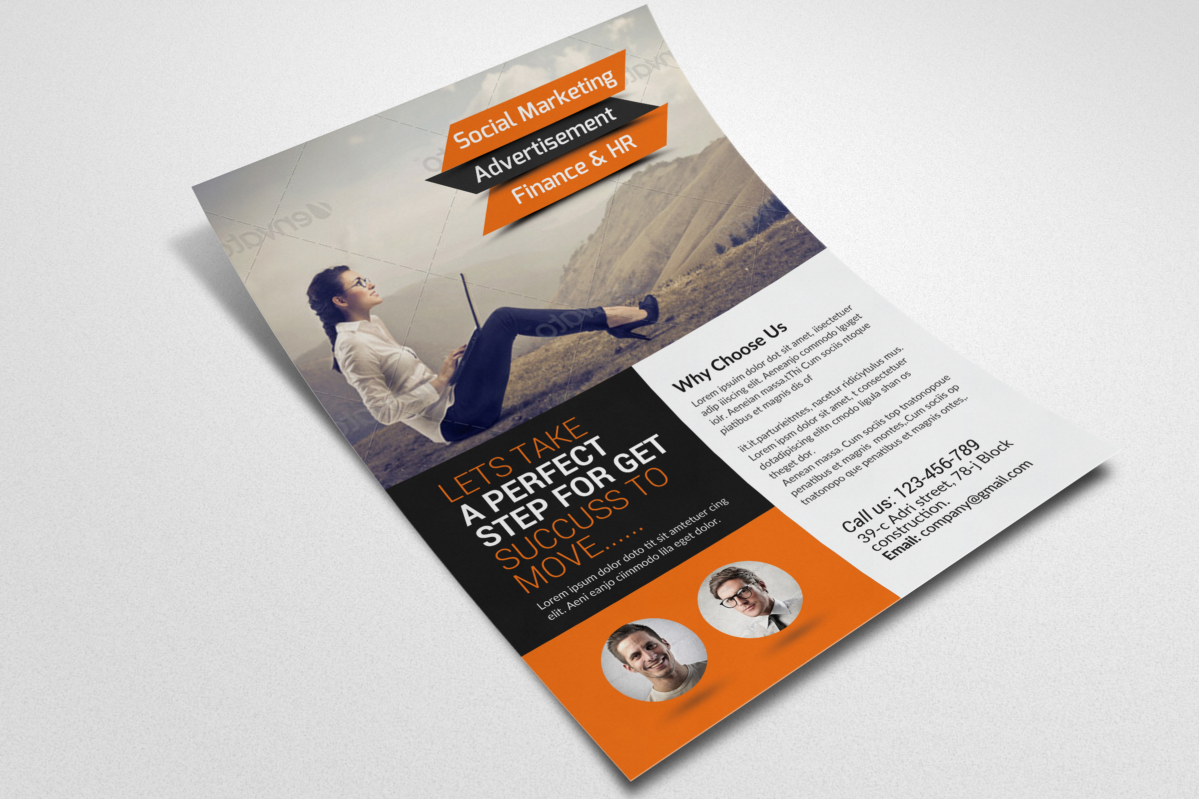 Business Solution Consultant Flyers  example image 2