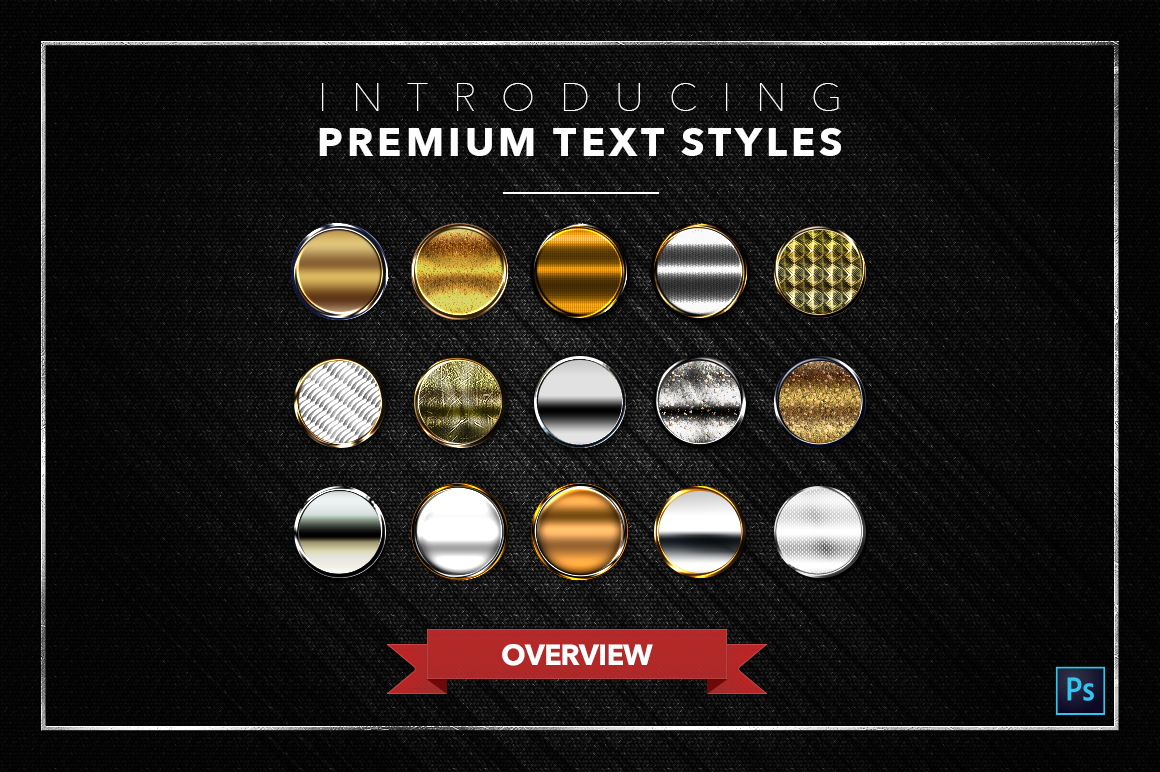 Gold & Silver #3 - 15 Text Styles example image 3