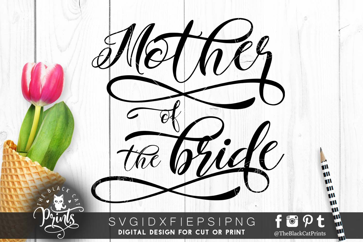 Mother of the bride SVG PNG EPS DXF, example image 5
