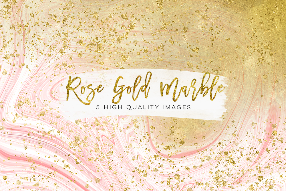 Gold and rose gold marble, pink glitter marble, glam rose gold planner paper, gold printable paper, rose gold decor, white gold marble, pink example image 3