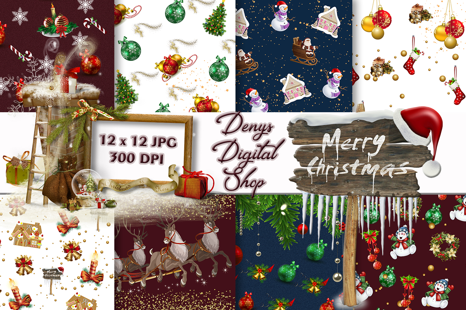 Christmas, Christmas Scrpabook, Scrapbooking, BLACK FRIDAY example image 1