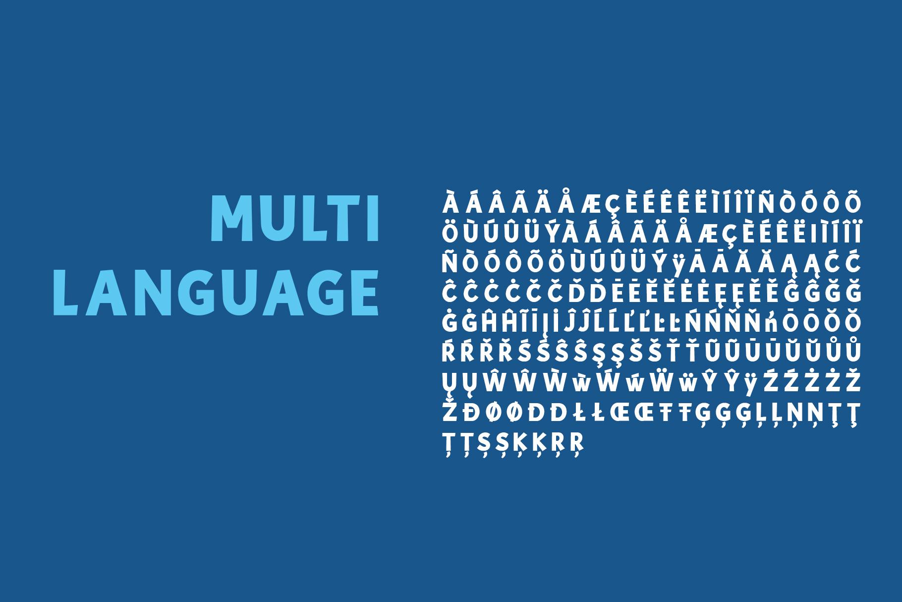 Blue Lagoon font example image 5