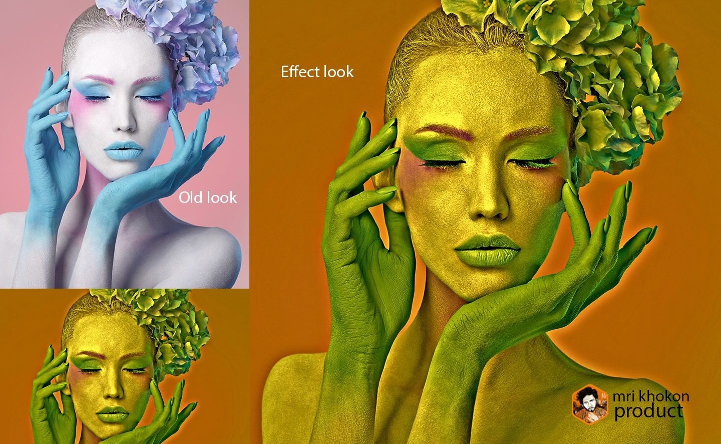 Gold Look Photoshop Effect example image 5