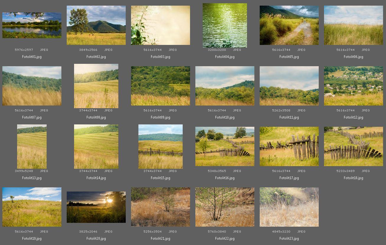 23 Pastoral Digital Backgrounds example image 2