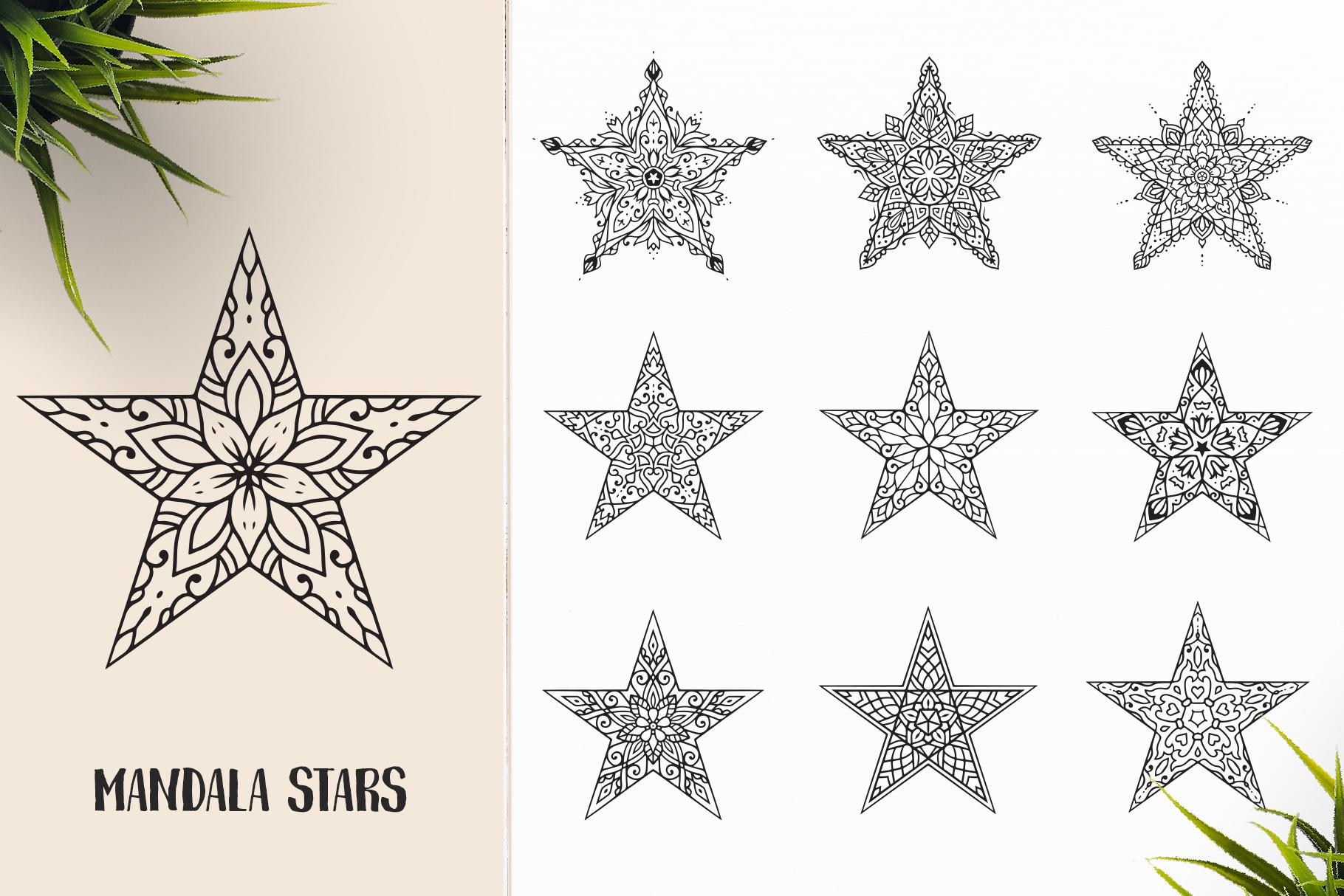530 Vector Mandala Ornaments Bundle example image 30