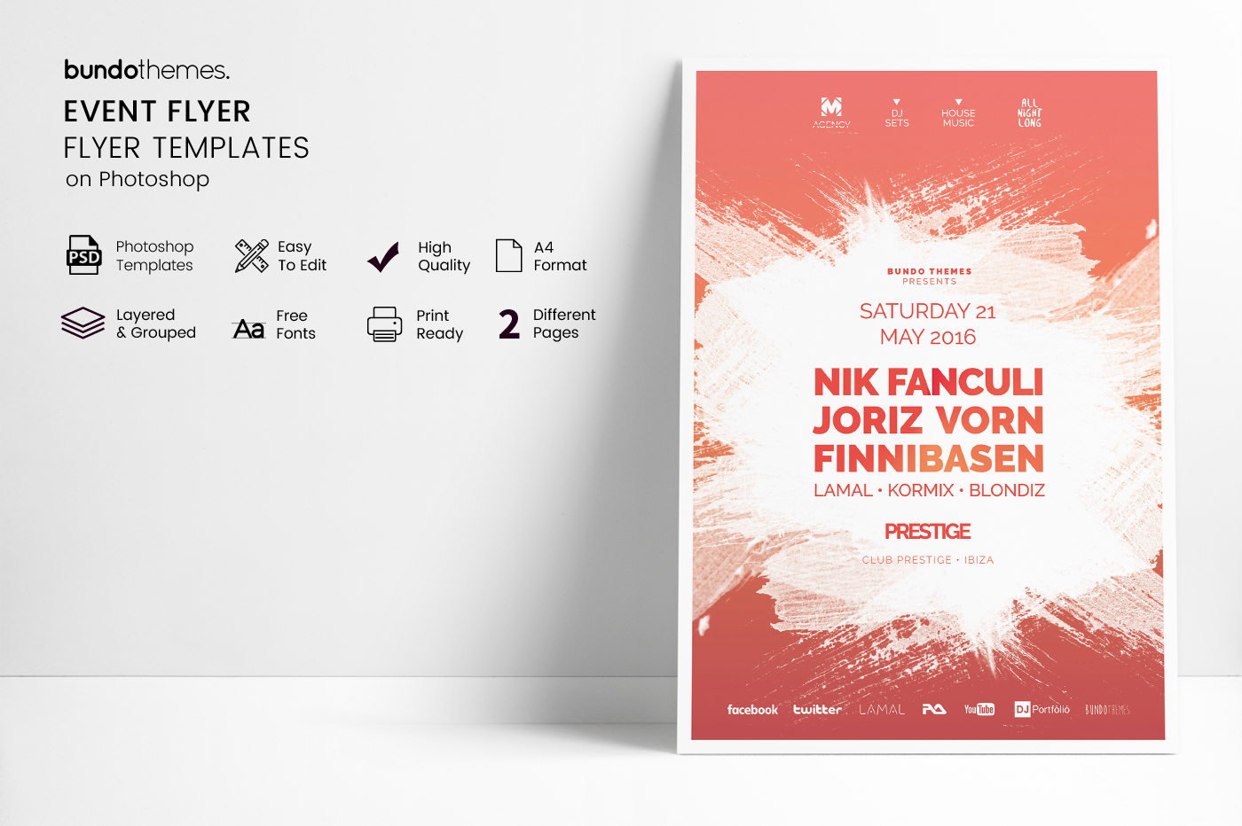 Event Flyer Template example image 2