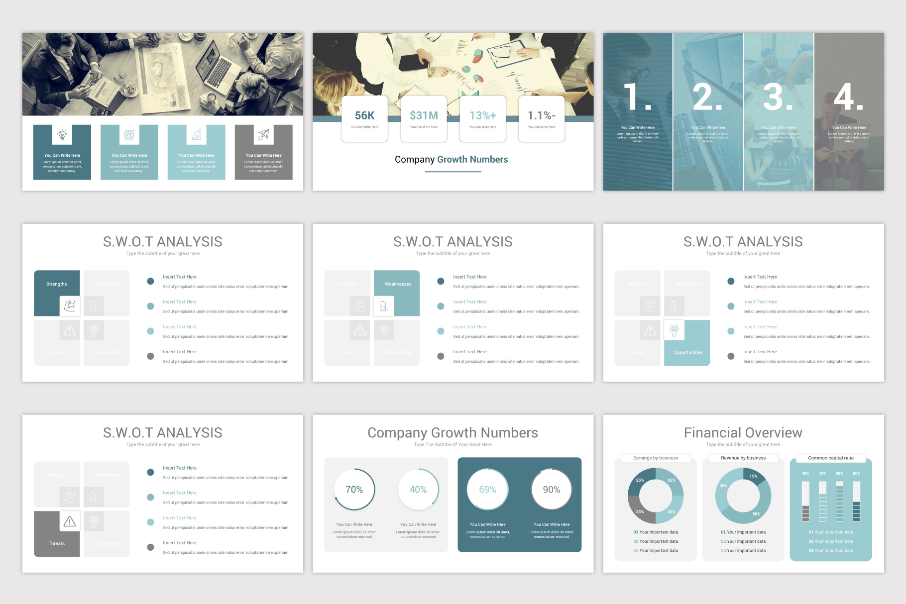 Simplicity PowerPoint Template example image 9
