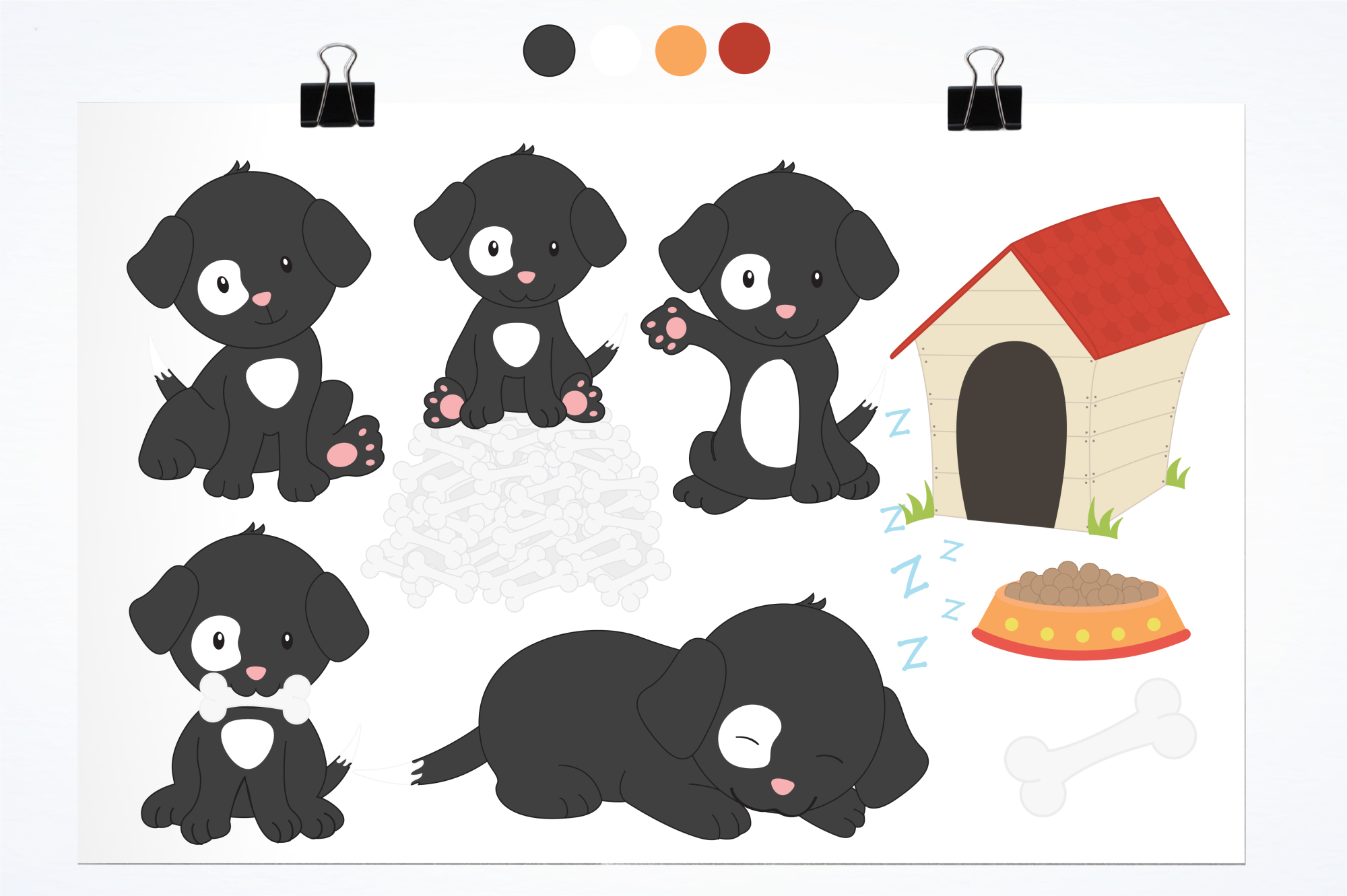 Puppy Playground graphics and illustrations example image 2