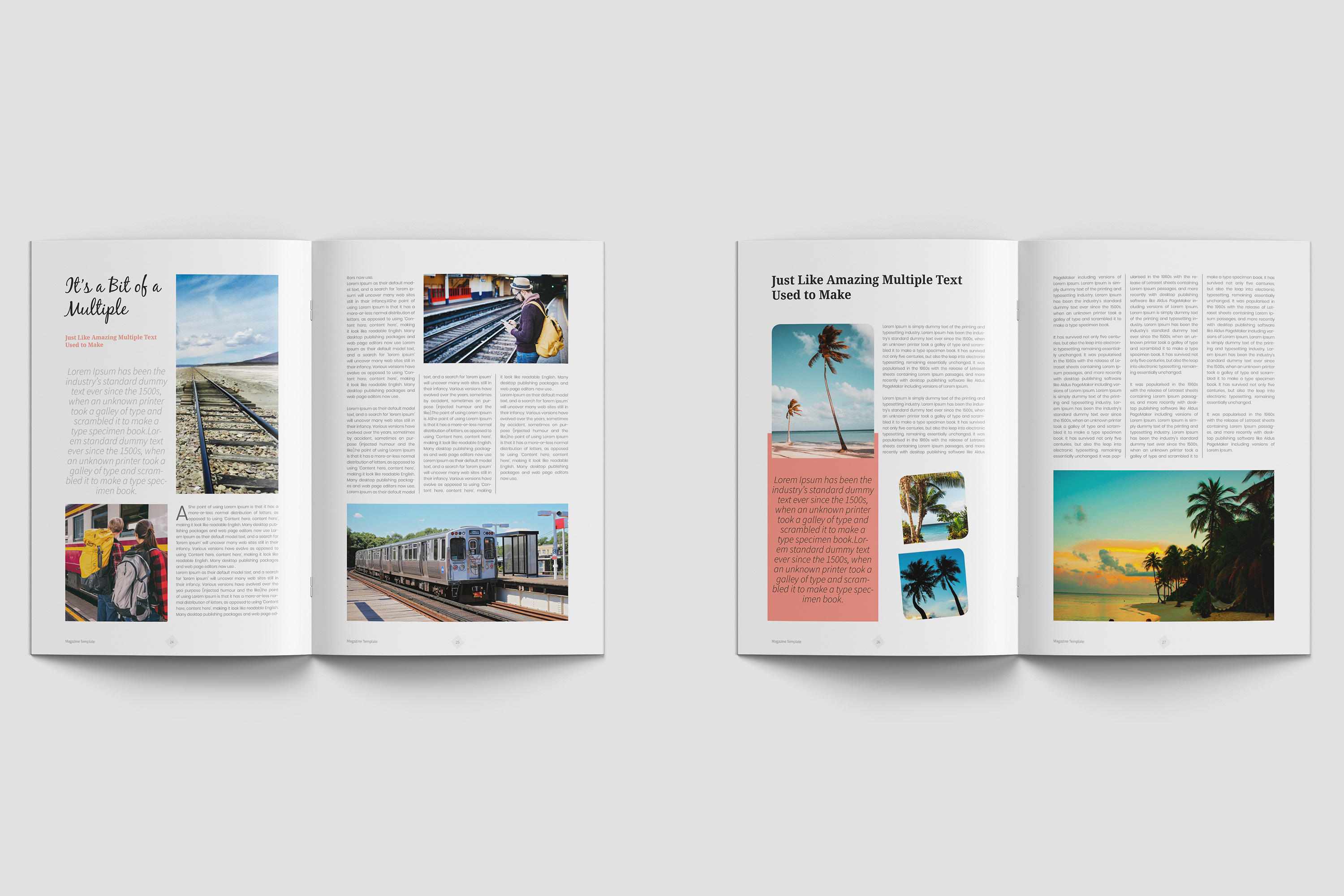 Travel Magazine Template example image 7