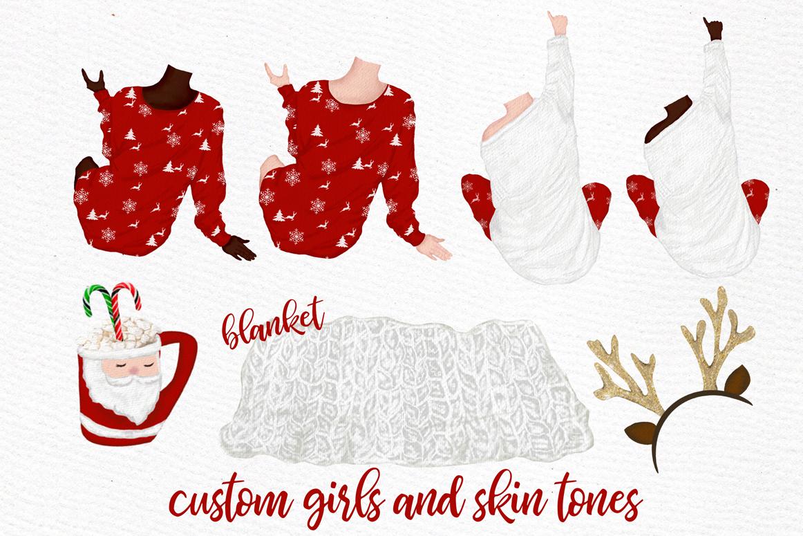 Christmas clipart, Girls Clipart, Planner Girls,Custom Girls example image 7