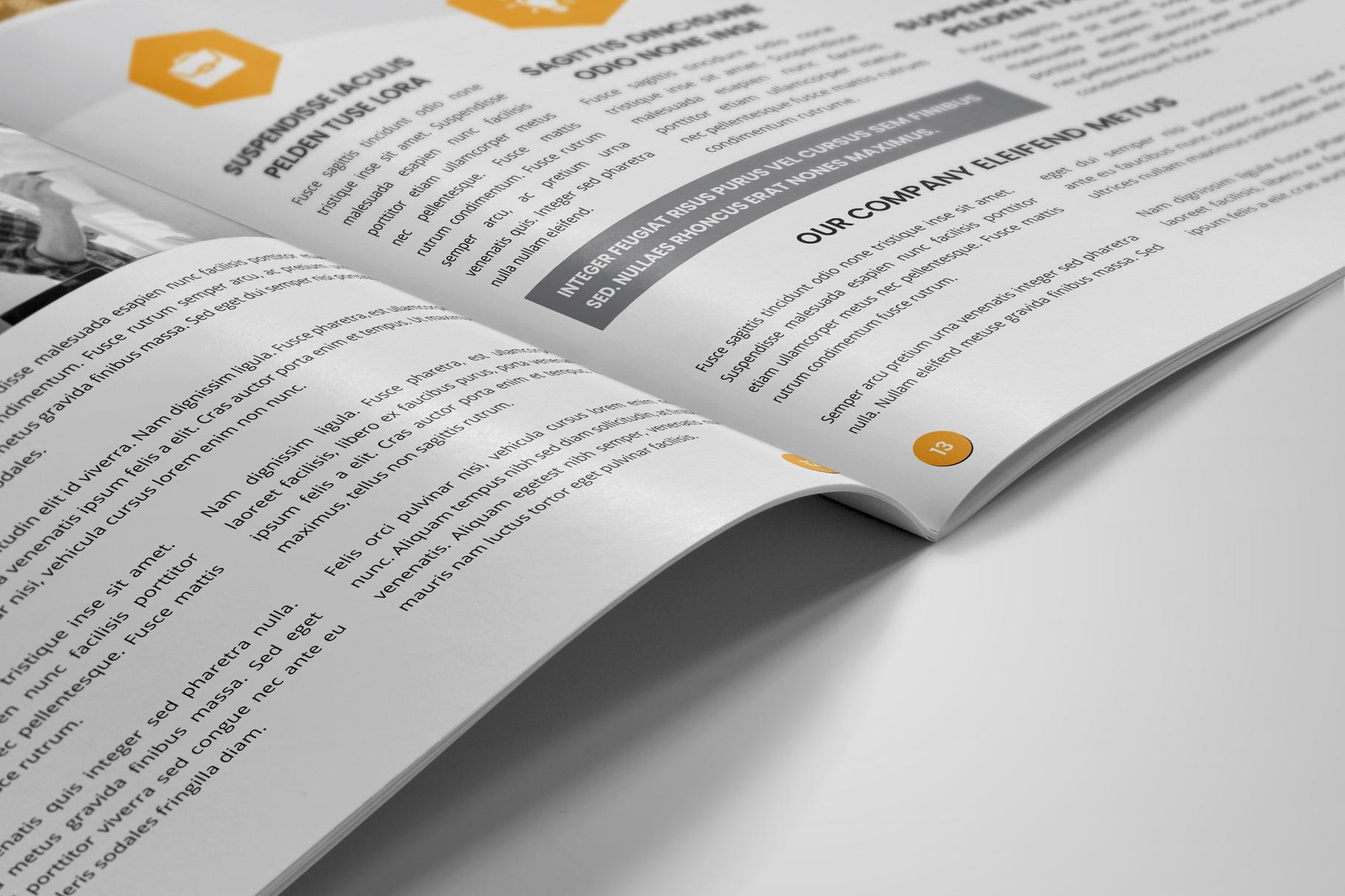 Annual Report Design v6 example image 9