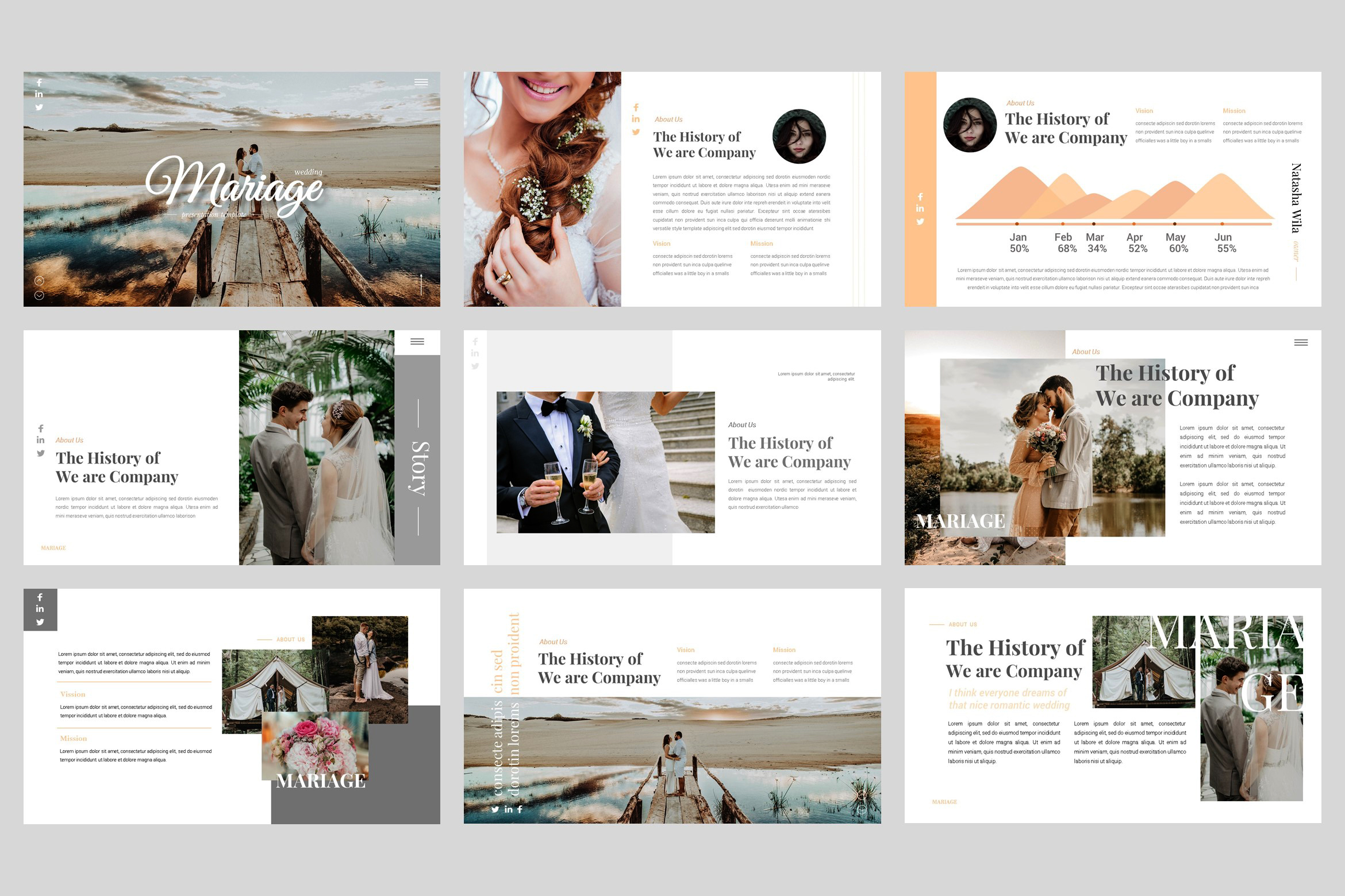 Mariage - Wedding Keynote Template example image 2