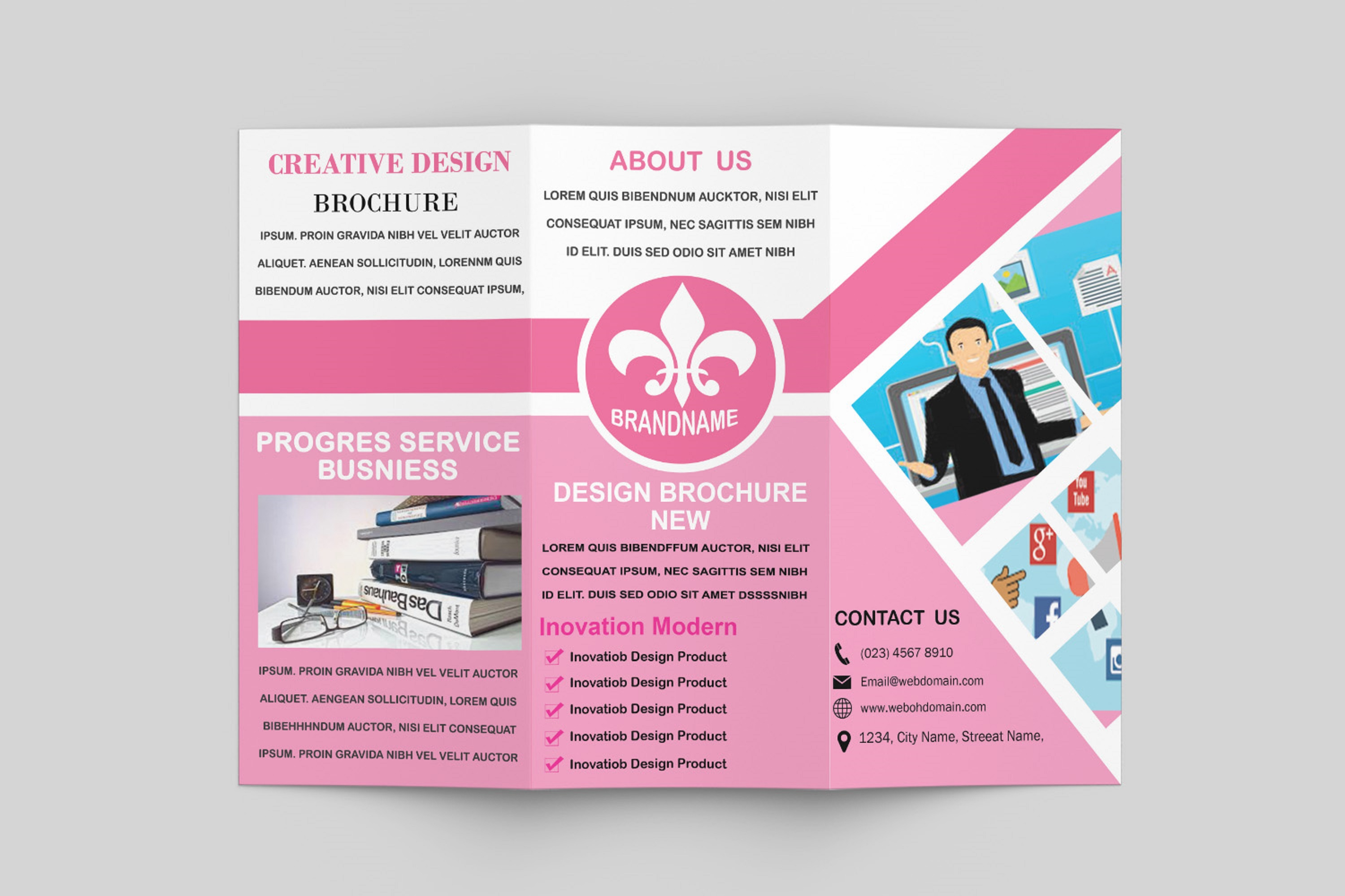 Trifold Brochure Template example image 8