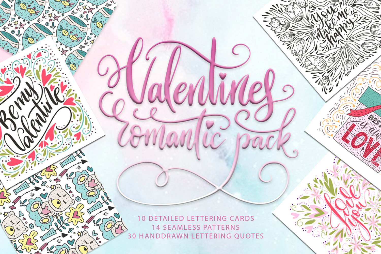 Valentines romantic pack example image 1