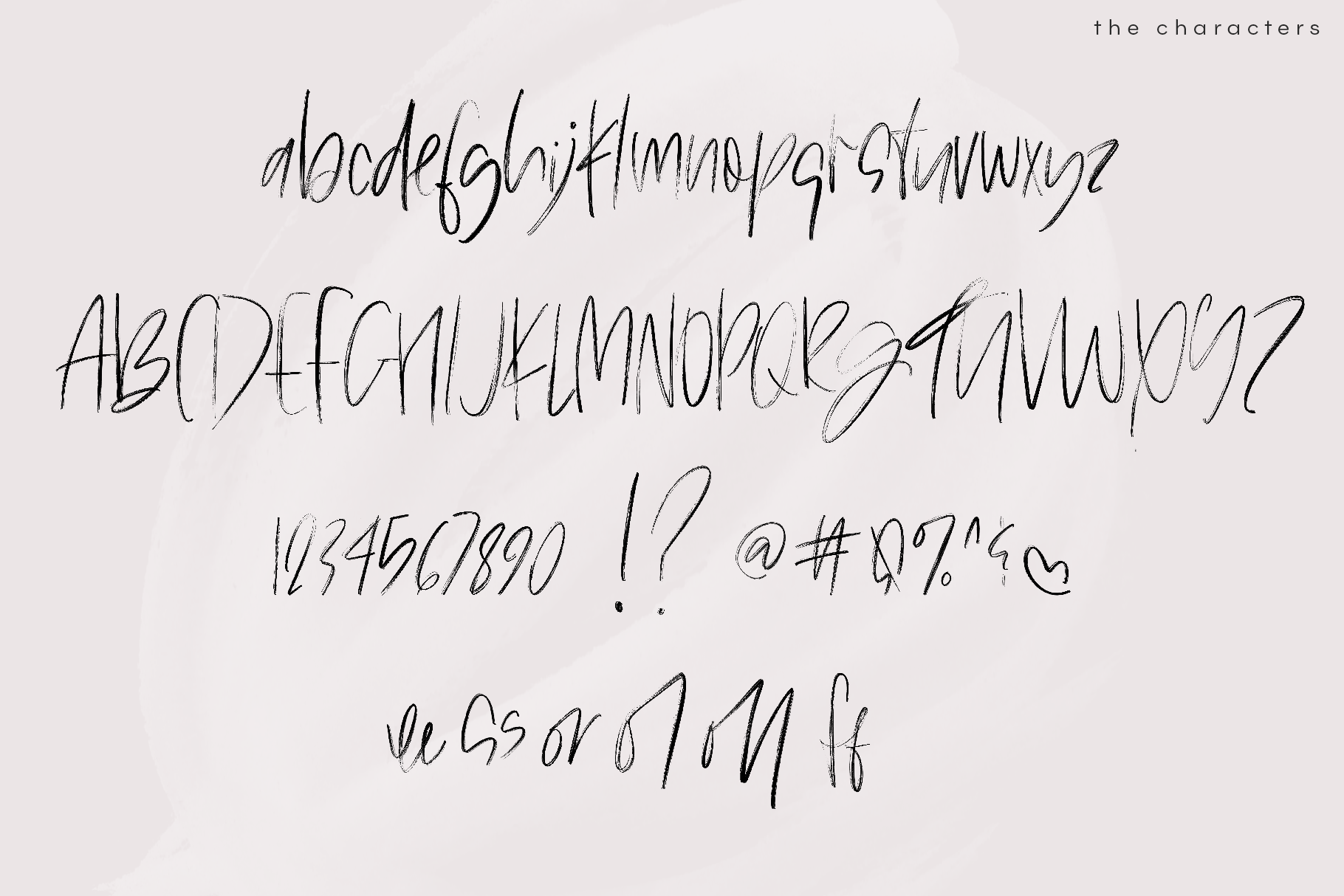 The Shaker - SVG & Regular OTF Brush Font example image 14