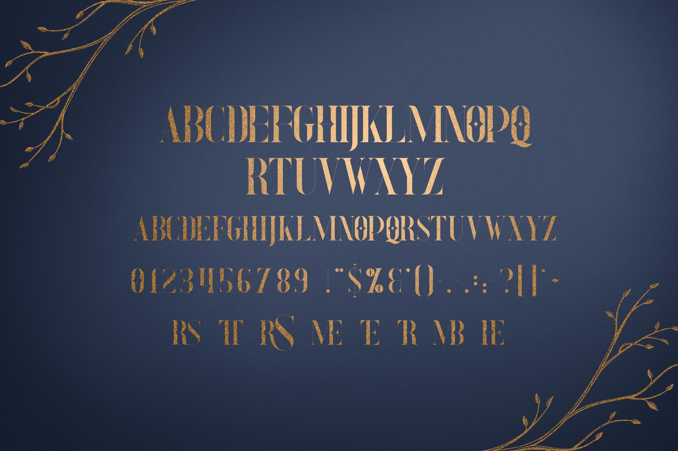 Explorers - Serif font Extras example image 7