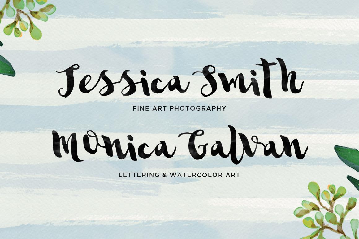 Sannie Typeface example image 2