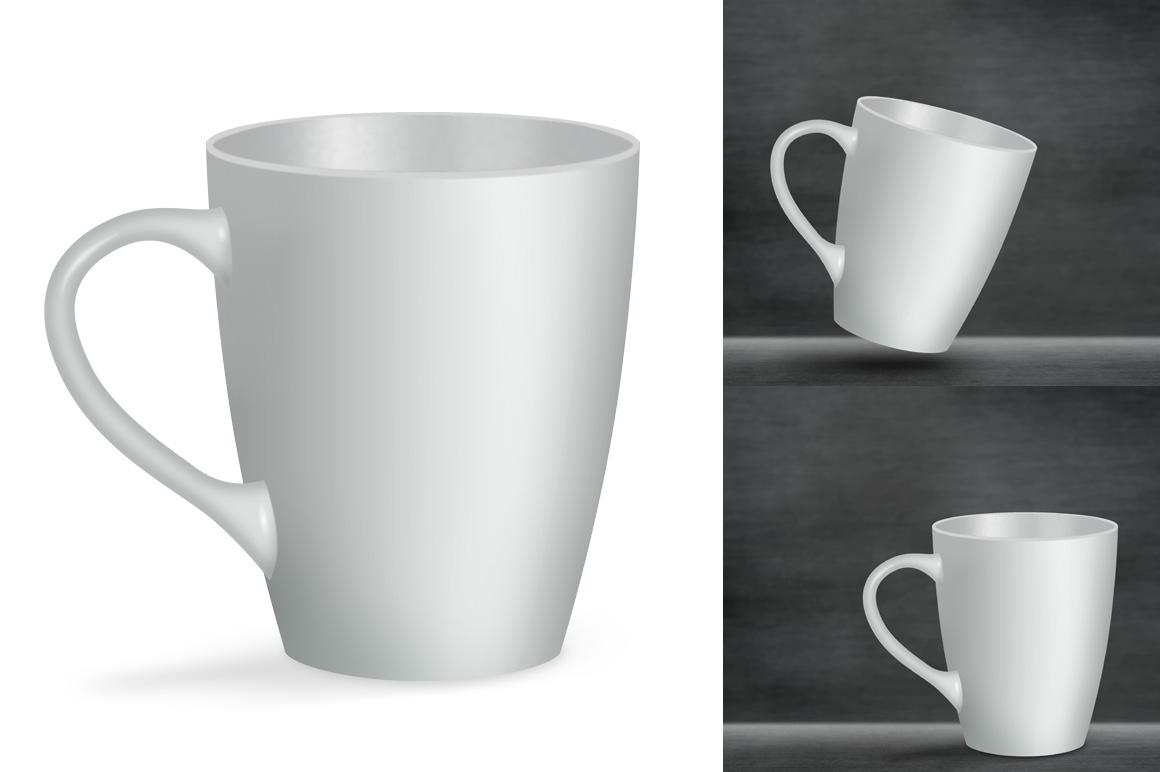 Ceramic mug mockup. Product mockup. example image 3