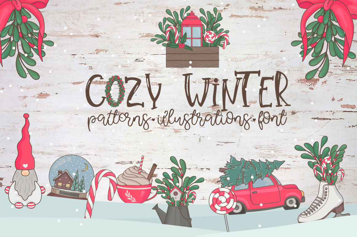 Cozy Winter. Big collection example image 1