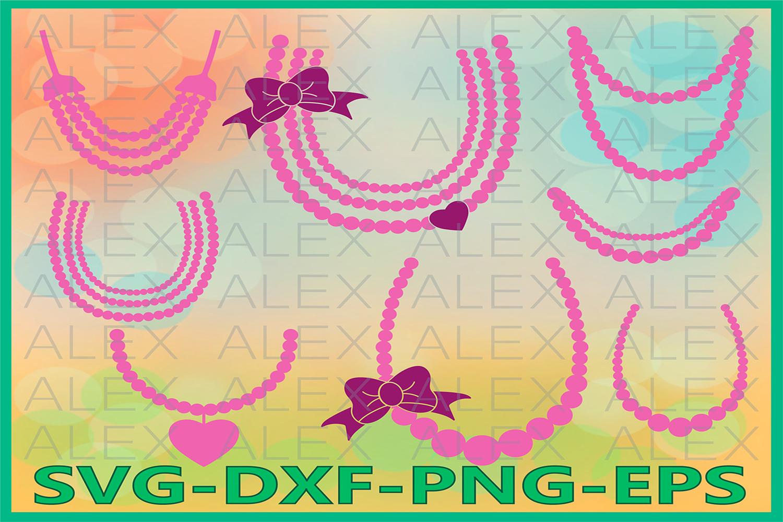 Pearls Svg Files, Princess Svg, Baby Pearls Svg example image 1