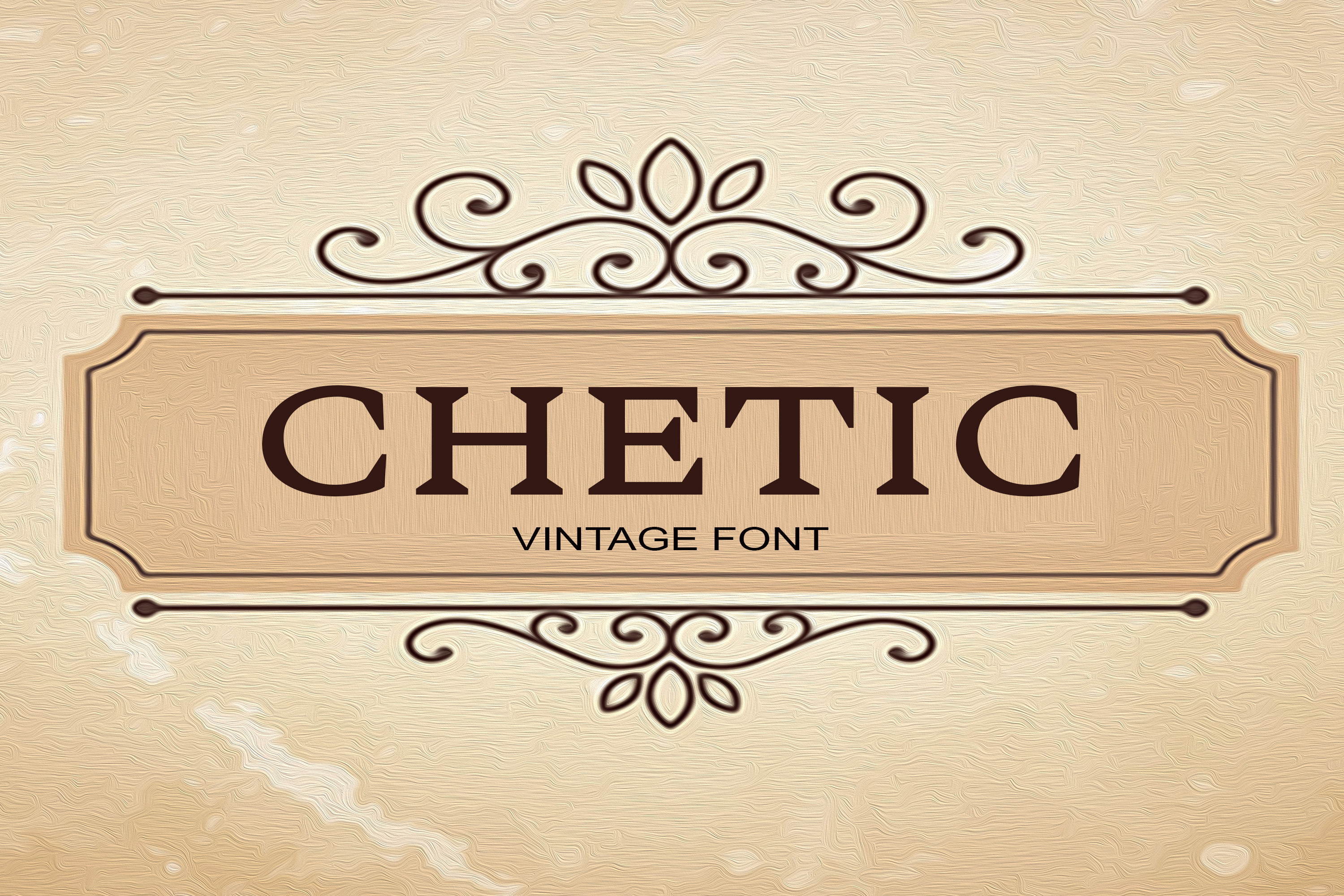 Chetic Font example image 1