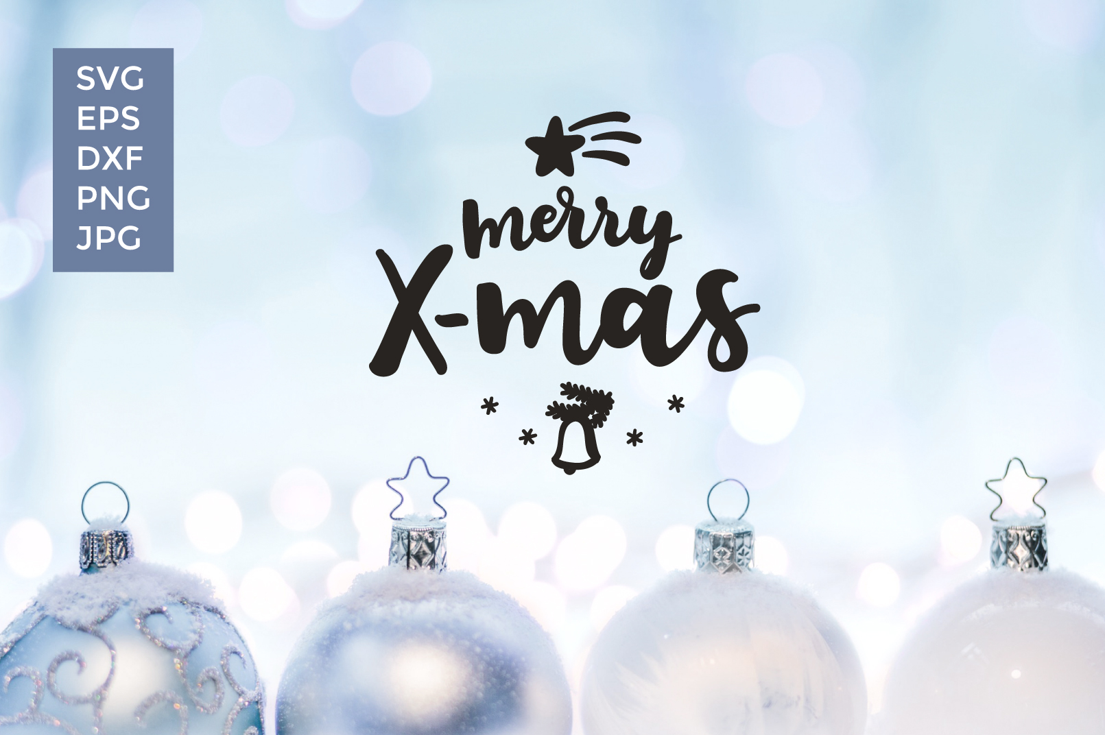 12 Christmas Vector Cut files example image 13