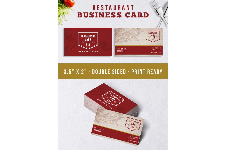 Restaurant Identity Bundle example image 2