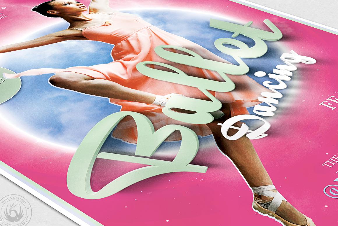 Dance Ballet Flyer Template V2 example image 6
