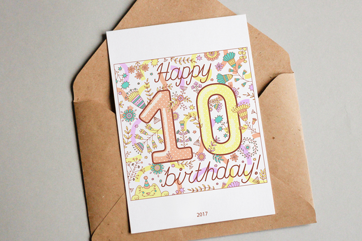 Birthday greeting cards collection example image 3
