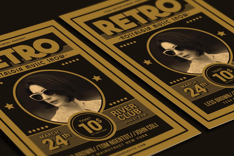 Retro Music Flyer example image 2
