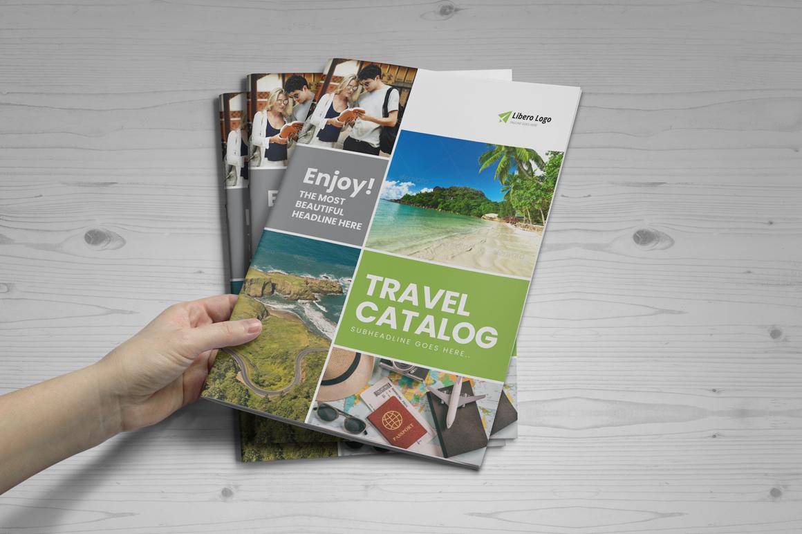 Holiday Travel Brochure Design v5 example image 7